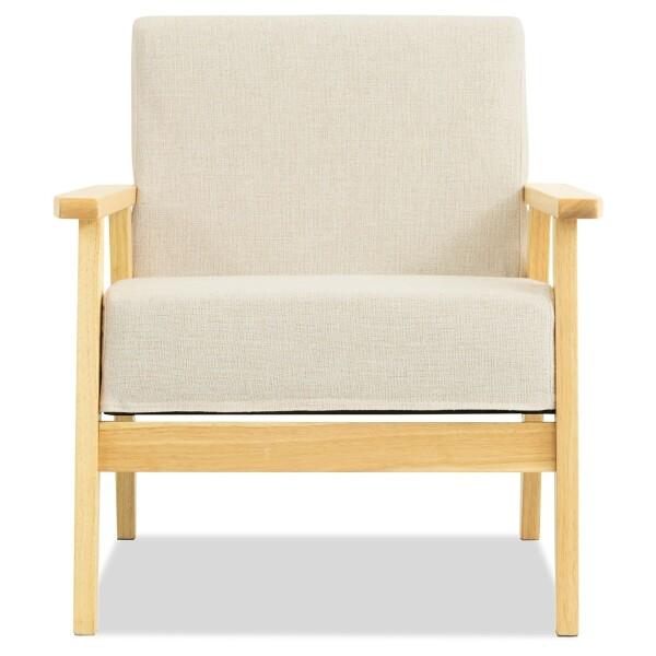 Hans 1 Seater Sofa (Off-White)