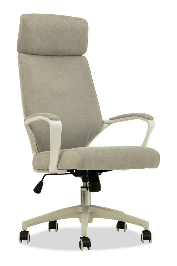 Erna Executive Office Chair (Fabric Grey)
