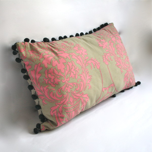 Giverny Rose Pillow 1