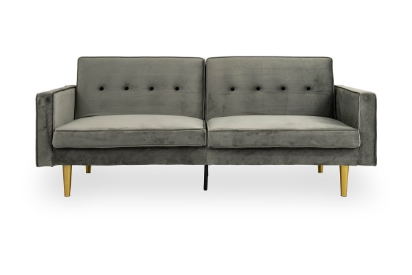 Filibert 3 Seater Sofa Bed (Dark Grey)