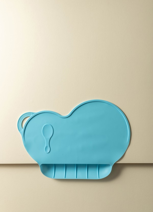 Clarra Silicone Non-Slip Kids Placemat (Sky Blue)