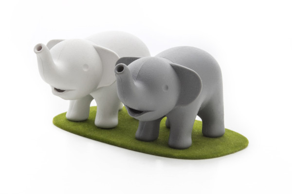 Duo Elephant Salt and Pepper Shaker by Qualy