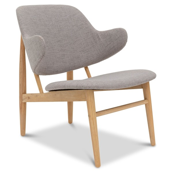 Saffi Lounge Chair in Storm Grey