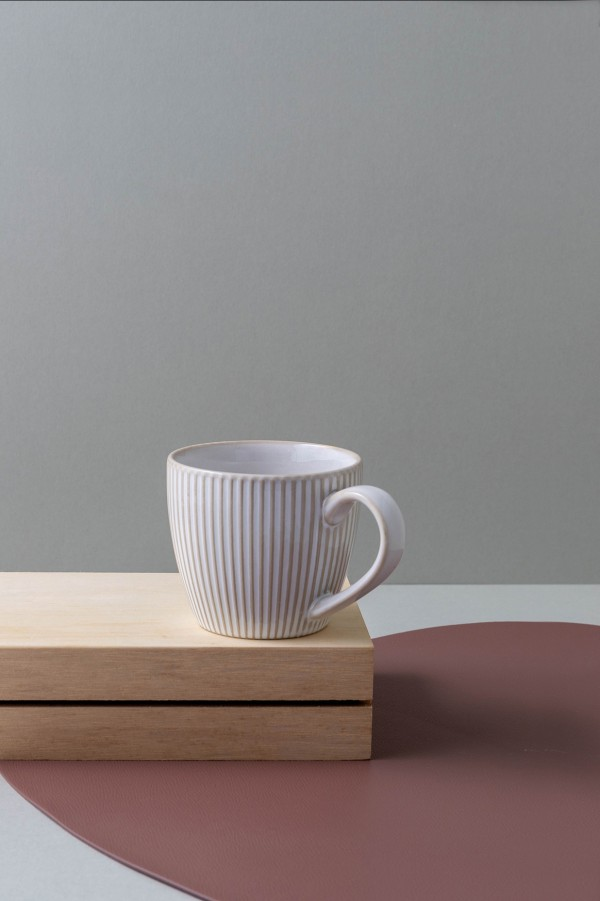 Eka Coffee Mug (Powder White)