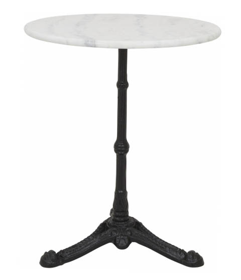 Monochrome Marble Table (Round)