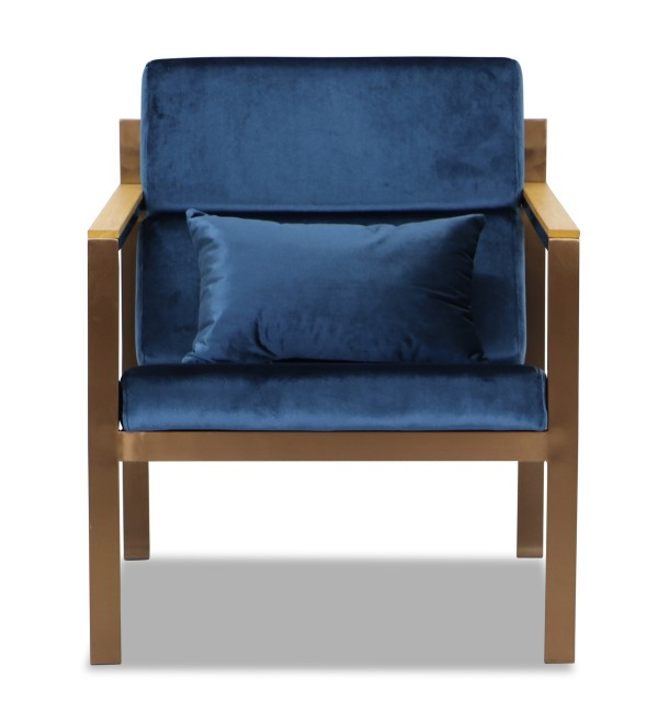 Hayun Armchair (Dark Blue)