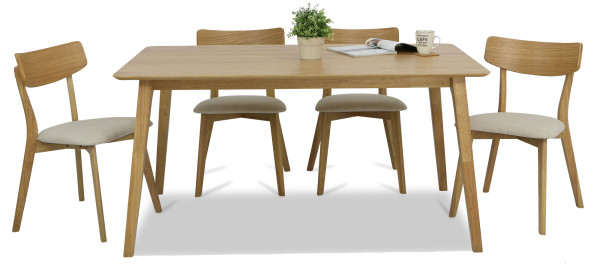 Loto Dining Table Set B (1+6)