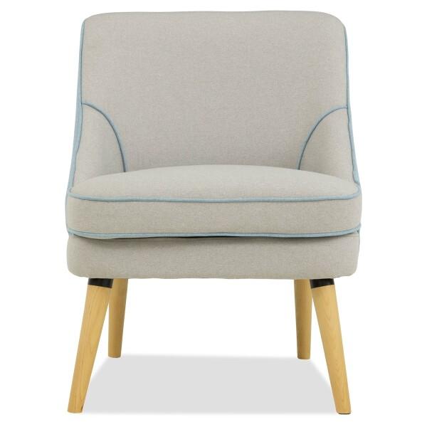 Elyssa Arm Chair (Light Grey)