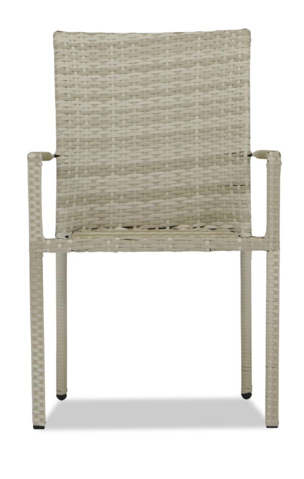 Wakiky Outdoor Dining Chair Cream