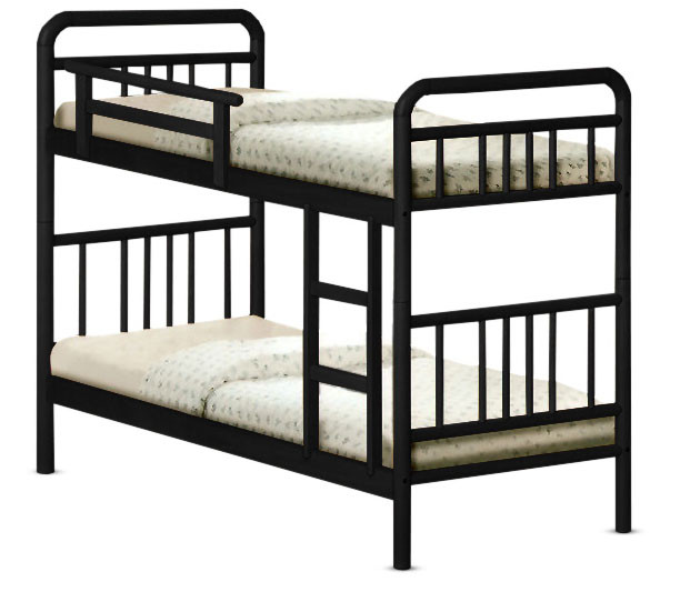 Romers double deck wooden bed furniture home d cor for Double deck bed images
