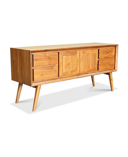Quinn Teak Tv Console Furniture Home Decor Fortytwo
