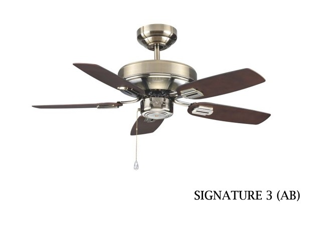 Fanco signature 3 ceiling fan 36 inch dark oak furniture home fanco signature 3 ceiling fan 36 inch dark oak aloadofball