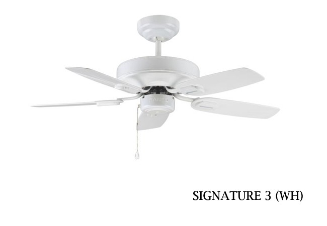 Fanco signature 3 ceiling fan 36 inch white furniture home dcor fanco signature 3 ceiling fan 36 inch white aloadofball Images