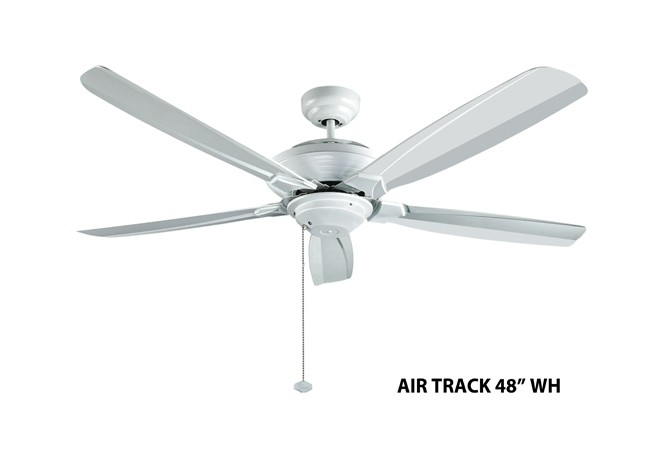 Fanco air track 48 inch ceiling fan white furniture home dcor fanco air track 48 inch ceiling fan white aloadofball Image collections