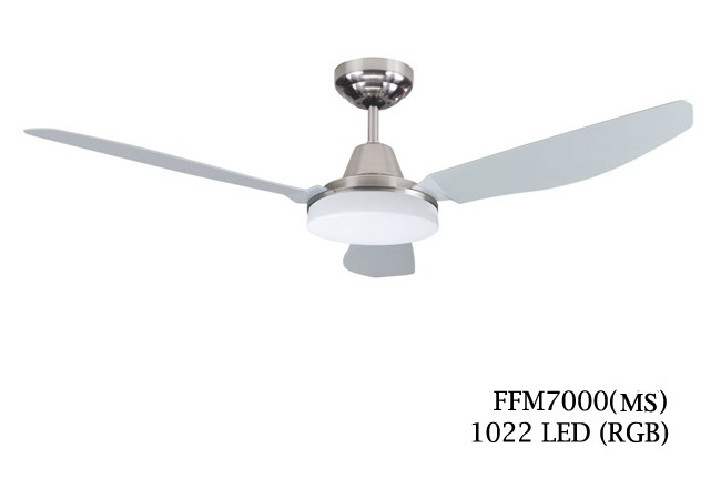 Fanco ffm7000 52 inch ceiling fan silver furniture home fanco ffm7000 52 inch ceiling fan silver mozeypictures Image collections