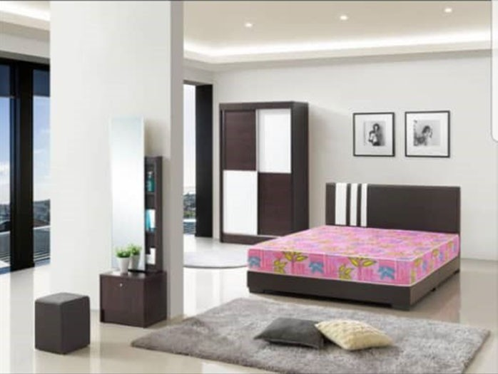 Easy 5 Piece Bedroom Set Furniture Home Decor Fortytwo