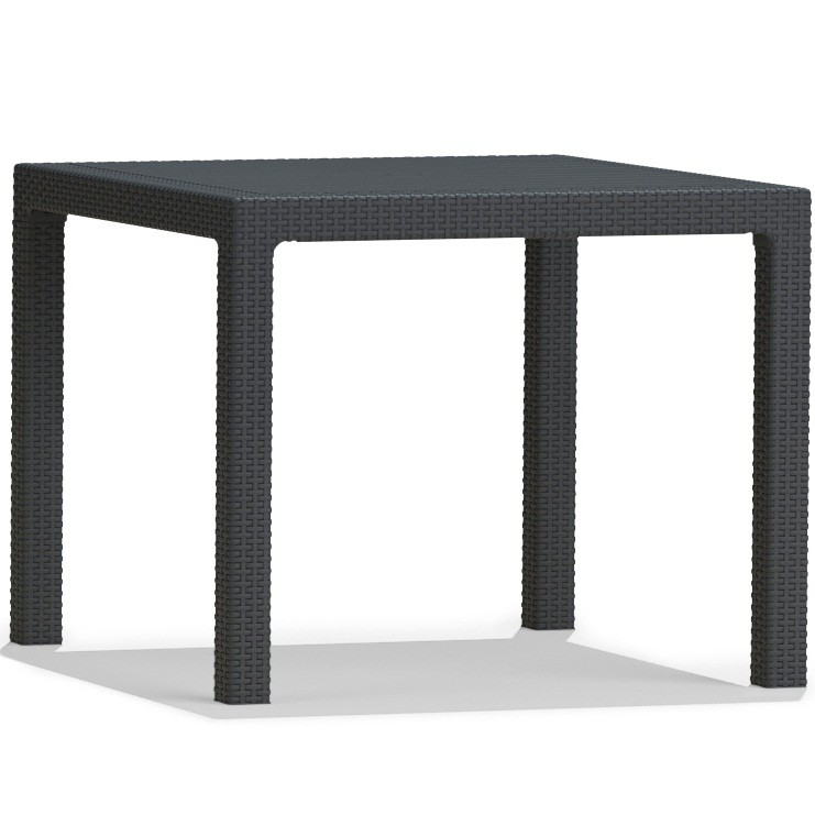 quartet furniture. Keter Quartet Table (Dark Grey) Furniture