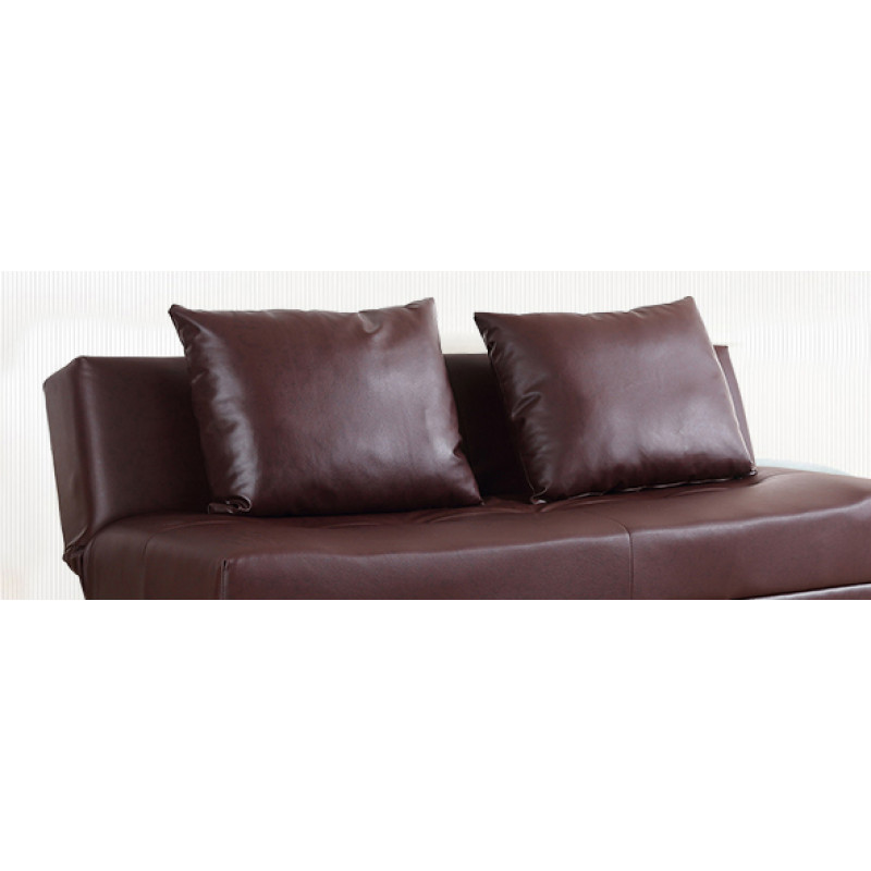 Sweden Sofa Bed Pvc Brown