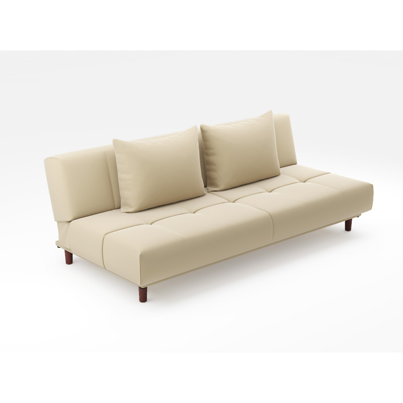 Sweden sofa bed pvc beige furniture home d cor for Schwedensofa