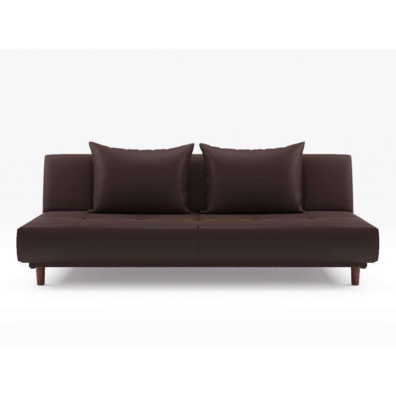 Sweden sofa bed pvc brown furniture home d cor for Schwedensofa