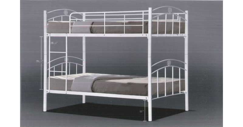 Sikes double decker bed furniture home d cor fortytwo - Double decker daybed ...