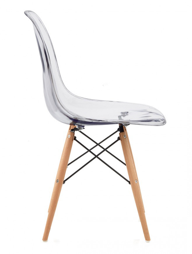 Eames clear replica designer chair furniture home for Imitation designer chairs