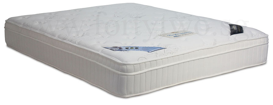 Princebed Comfort Harmony Coolmax Eurotop Ortho Firm Pocketed Spring