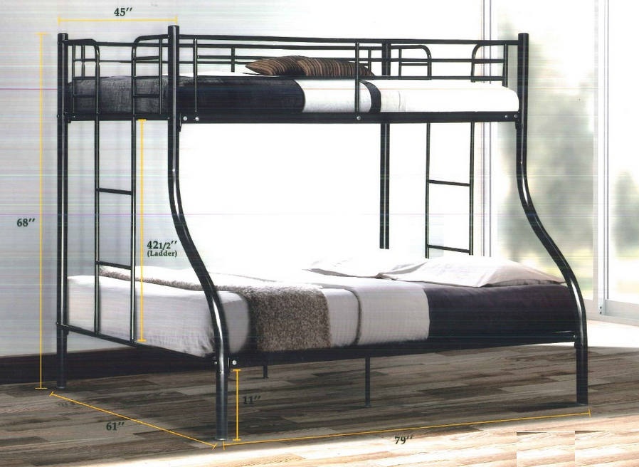Sparks Bunk Bed Super Single Queen Furniture Home Decor