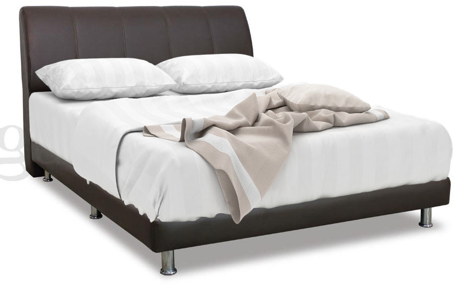 bed double time by frame leather beds living faux black durham
