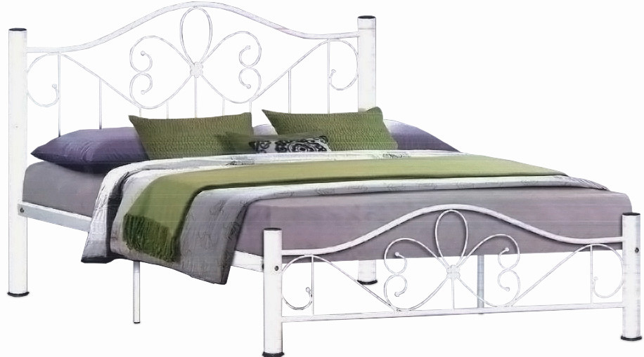 Lassirra Bed Frame In Queen Size White Furniture Home Decor