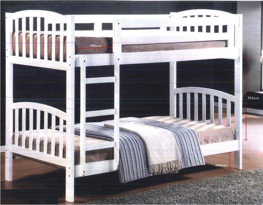 Artie double decker bed furniture home d cor fortytwo for Double deck bed images