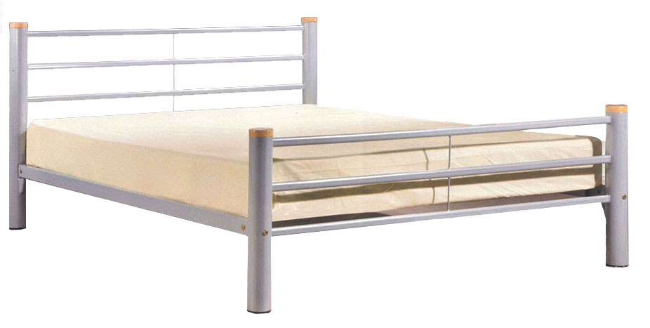 Avalon Queen Size Metal Bed   Furniture & Home Décor   FortyTwo