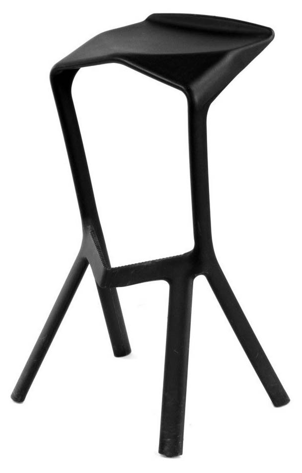 neuer geometric bar stool black furniture home décor fortytwo