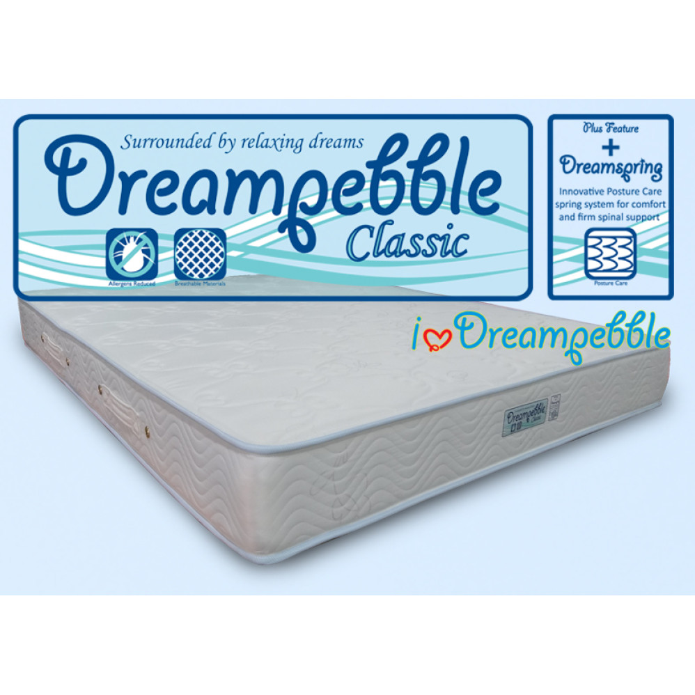 dreampebble classic posture care spring mattress furniture home