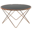 Carafa Round Table Copper/Black