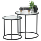 Careri 2pcs Nesting Table Set