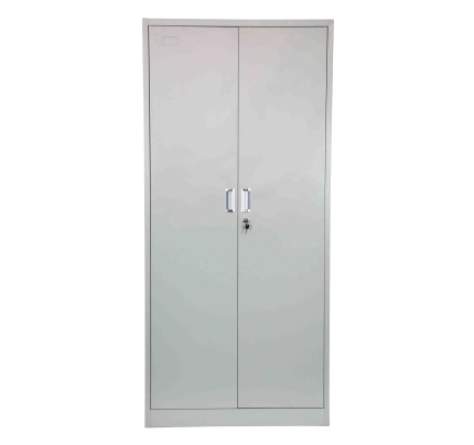 Helene High Steel Filing Cabinet Light Grey