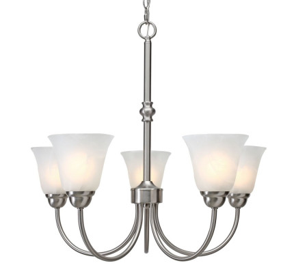 Golden lighting grace 5 light chandelier in pewter 1264 5 pw