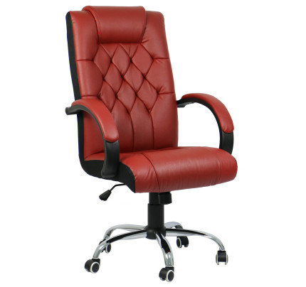 RockFord Executive fice Chair Red
