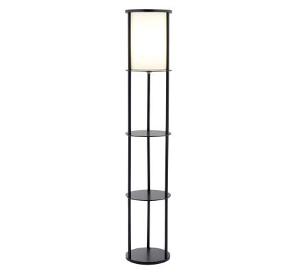 Adesso Stewart 1 Light Shelf Floor Lamp (3117 01)