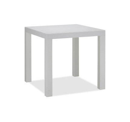 Landon Regular Dining Table White