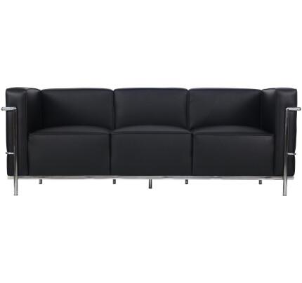 Barade 3 Seater Pu Leather Sofa