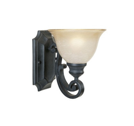 cheap wall sconce lighting. Designers Fountain Barcelona 1 Light Wall Sconce (96101-NI) Cheap Lighting