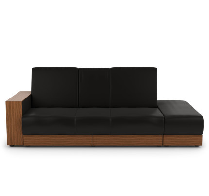 sofa bed with storage. Sarai Storage Sofa Bed (PVC Black) Sofa Bed With Storage M