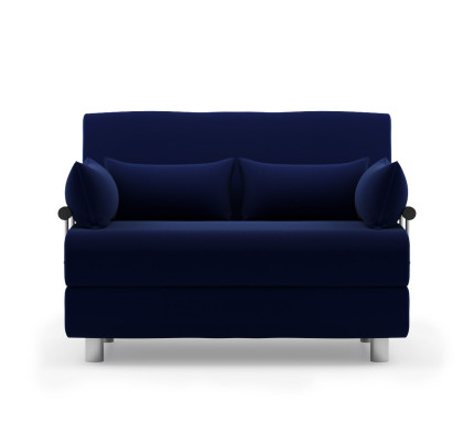 Rolly Sofa Bed Fabric Blue