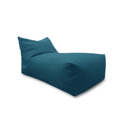 Minimalist Daisy Bean bag Blue Trending - Cool navy blue bean bag chair Pictures