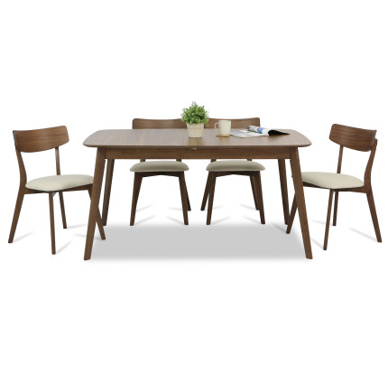 Kimberly Butterfly Extension Dining Set A 1 4