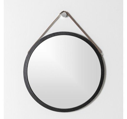 Mirrors Home Decor, Carved Wood 35 Round Mirror
