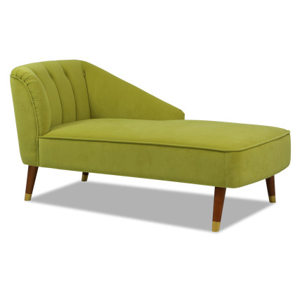 Iyanna Left Chaise Green