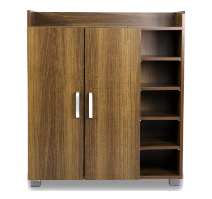 shoe cabinet furniture. Experion Shoe Cabinet (Walnut) Furniture